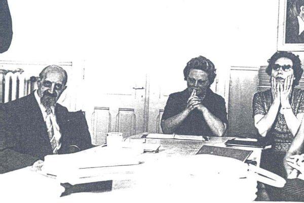 1965 - 5ª Semana Internacional de PsicossinteseDr. Roberto Assagioli, Dorette Faillettaz, Marie-Louise Baumlin