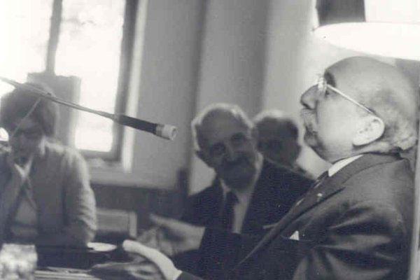 1965 - 5ª Semana Internacional de PsicossinteseDr. Roberto Assagioli, Dr. Henri Baruk fala sobre a Chitamnie e o Tzedek (justiça)