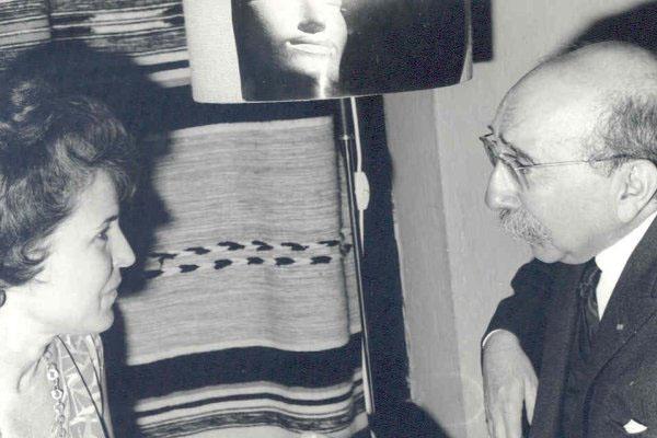 1965 – 5ª Semana Internacional de Psicossintese.Maria Bonomo de Zago, Dr. Henri Baruk.