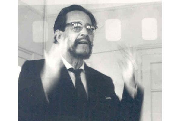 4ª Semana Internacional de Psicossintese 01 – 07/09/1961Dane Rudhyar (nesta época ainda não era um profissional conhecido)