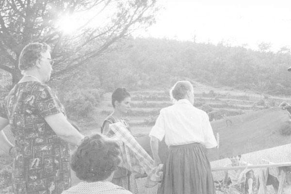 """1963 -  Congresso IARD (Rotary/Milão) para os superdotados – Capolona, """"La Nussa"""""""